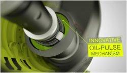 Ryobi QuietStrike Oil Pulse R18QS винтоверт импульсный аккумуляторный механизм