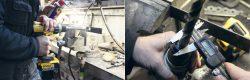 тест металл сверление шуруповёрт