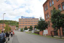 Husqvarna завод Huskvarna Хускварна Йёнчёпинг Швеция город
