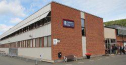 Husqvarna X Cut цепь пильная завод производство Йенчепинг Швеция здание