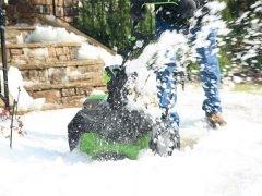 аккумуляторный снегоуборщик GreenWorks GD80SB: