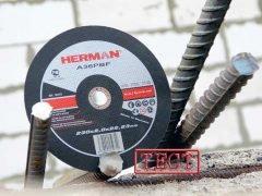 тест отрезных кругов Herman абразивы