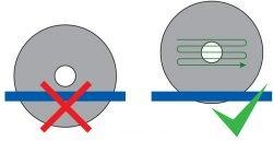 диск абразив инструкция как резать