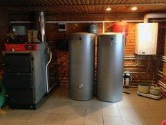 Котлы Vitolig 150S и Vitodens 100-W