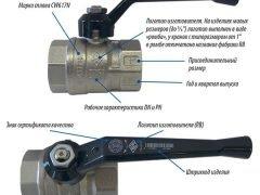 Шаровой кран RB Uni-sfer