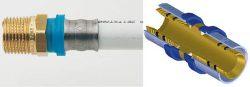 Металлополимерная труба и пресс-фитинг