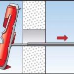 Fischer DuoTec дюбель установка самоустанавливающийся гипсокартон