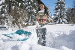 Gardena 50 лопата уборка снег комбисистема
