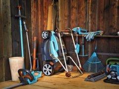 Зимнее хранение инструмент инвентарь садовый Gardena совет рекомендация