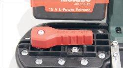 Metabo MBS 18 LTX пила ленточная аккумуляторная лента рычаг натяжение ослабление 2.5