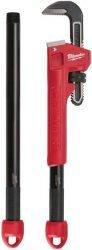 Ключ трубный Milwaukee Cheater Читер настраиваемый длина 250 450 600 мм