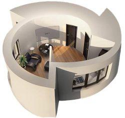 Дом напечатанный на 3D принтере