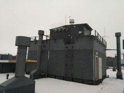 Крышная котельная с котлами Buderus GB162