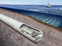 Fischer дюбель анкер Босфор тоннель Евразия первый автомобильный пролив FNA II FBS гвоздевой гвоздь шуруп бетон