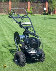 Кабелеукладчик монтаж робот газонокосилка Husqvarna Automower 420