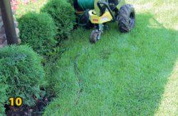 Провод ограничительный прокладка робот газонокосилка Husqvarna Automower 420 монтаж