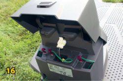 Базовая станция газонокосилка робот Husqvarna Automower 420 монтаж