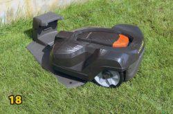 База светодиод газонокосилка робот Husqvarna Automower 420 монтаж