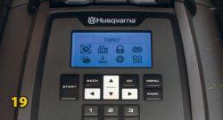 Дисплей меню Husqvarna Automower 420 робот газонокосилка