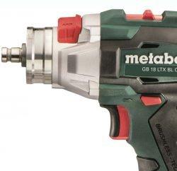 Резьборез аккумуляторный Metabo дрель шуруповерт GB 18 LTX BL Q I переключатель режим резьба нарезание сверление