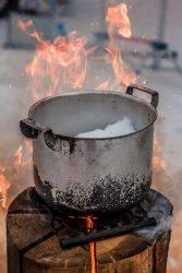 Шведский факел Husqvarna приготовление пища