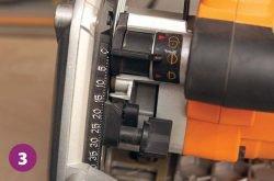 Triton TTS1400 погружная циркулярка прилив корпус редуктор ограничитель