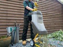 Измельчитель садового мусора