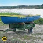 автомобиль прицеп перевозка лодки