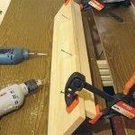 сделать мастерская стеллаж для инструментов
