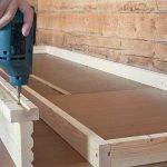 Делаем своими руками мебель для мастерской