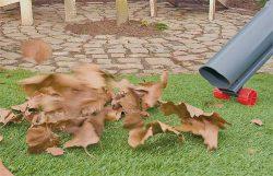 садовый пылесос убрать листья