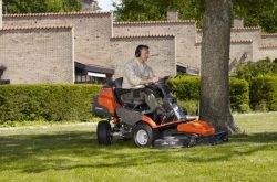 Husqvarna R 422Ts AWD райдер трактор мини газонный садовый