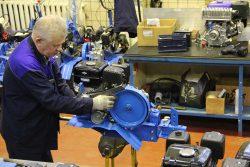 натяжение ремня проверка двигатель мотоблока мотоблок