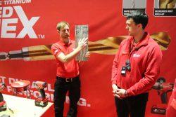 Milwaukee Red Hex сверло металл винтоверт импульсный аккумуляторный 2017 конференция Берлин