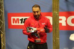 Milwaukee M18 HCC45 кабелерез резак аккумуляторный гидравлический бесщеточный двигатель 2017 конференция Берлин