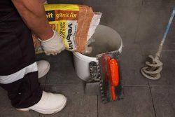 Плиточный клей weber.vetonit granit fix