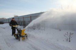 Тест-драйв снегоуборщика отзывы