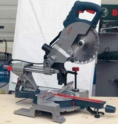 Bosch GCM 800 SJ Professional пила торцовочная торцовочно усовочная протяжка с протяжкой бош
