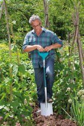 Gardena Terraline лопата штыковая садовая D образная рукоятка