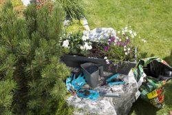 Gardena комплект Домашнее садоводство 3 секатор лопатка перчатки садовые кувшин многофункциональный