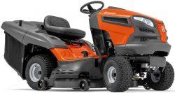 Husqvarna TC 142T трактор садовый мини газонный газонокосилка сиденье