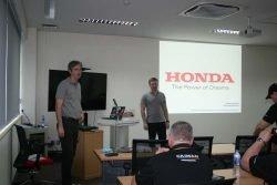 Honda Unisaw Group Tai Manufacturing завод Тайланд дилерская конференция 2017