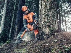 Вальщик лес бензопила Husqvarna