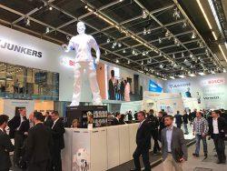 Bosch и Buderus на ISH 2017