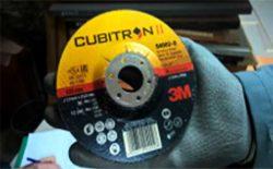 тест фибровый круг 3M Cubitron II