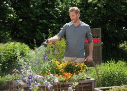 Gardena система полив орошение шланг пистолет распылитель