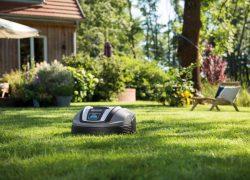 Gardena робот газонокосилка роботизированная автоматическая