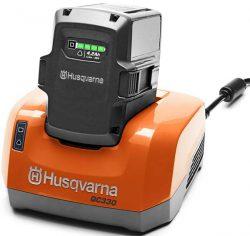 Husqvarna QC330 зарядное устройство ЗУ быстрозарядное QC 330
