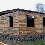 Бюджетный дом из бурса