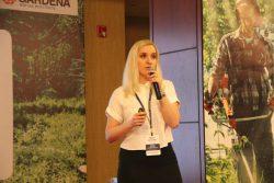 Марина Щеголяева Gardena менеджер трейд маркетинг ООО Хускварна дилерская конференция 2017 Ереван Армения 29 март Гардена